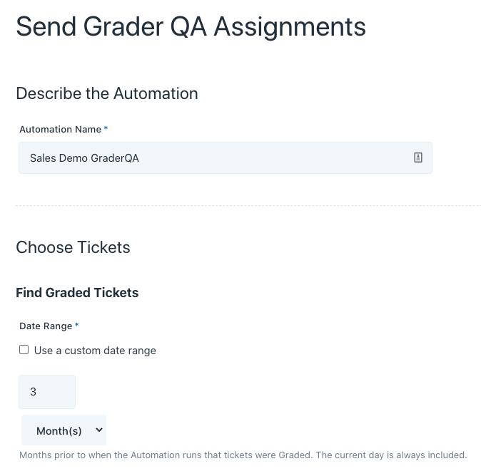 send grader qa assignments automation